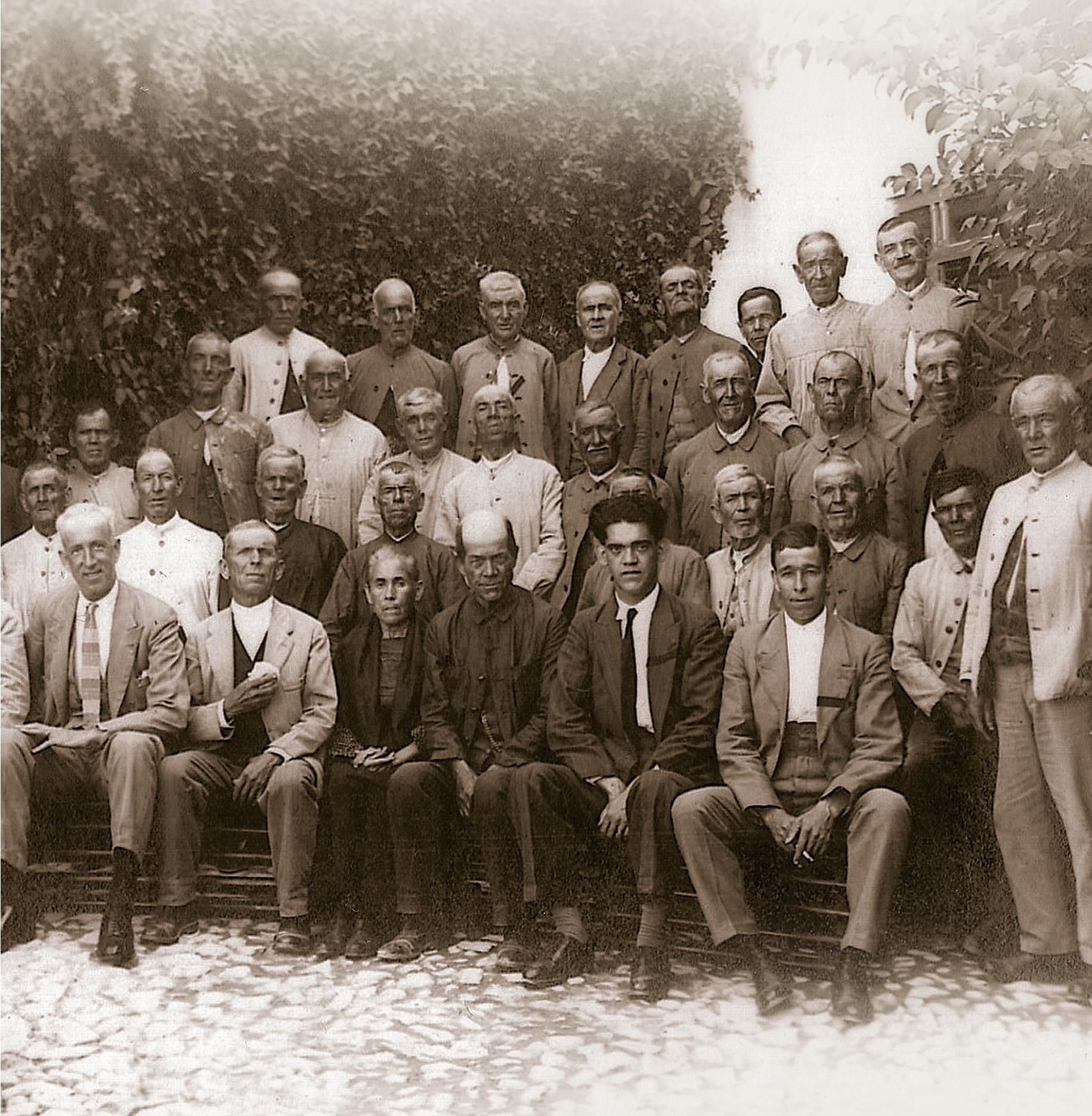 Ancianos. Segundo retiro obrero 1932