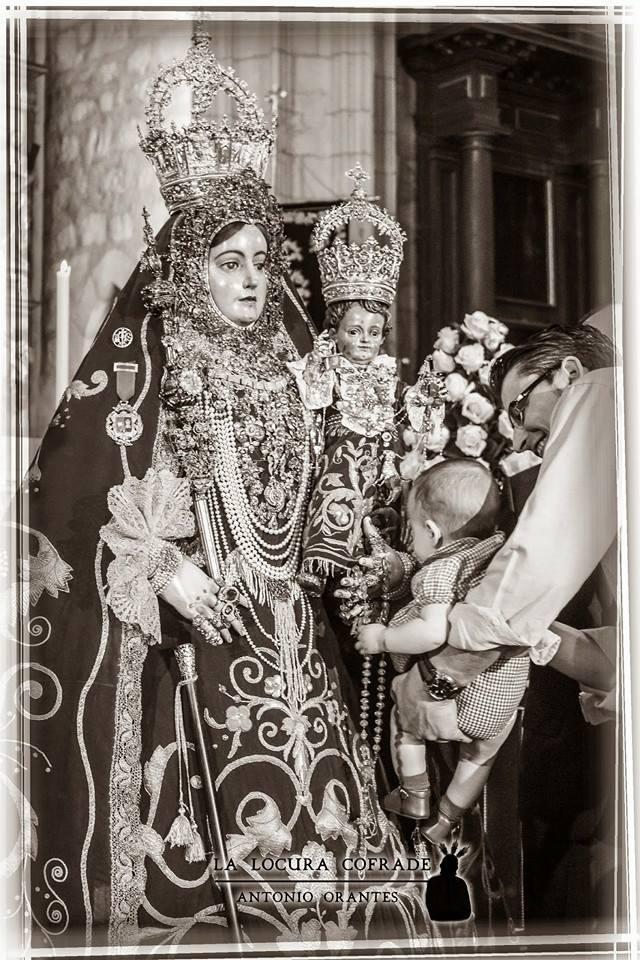 Virgen Araceli, patrona de Lucena, besamanos 2014