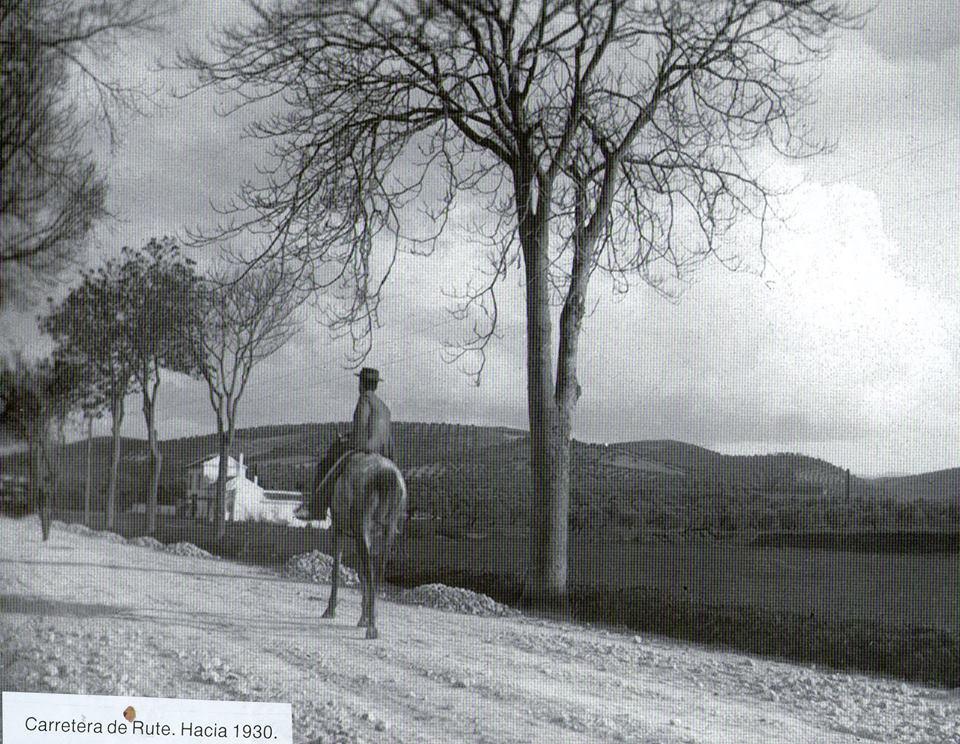 Carretera de Rute 1930