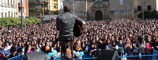 Plaza Nueva. Concierto Pablo Alborán 2011