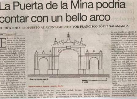 La Puerta de la Mina que pudo ser