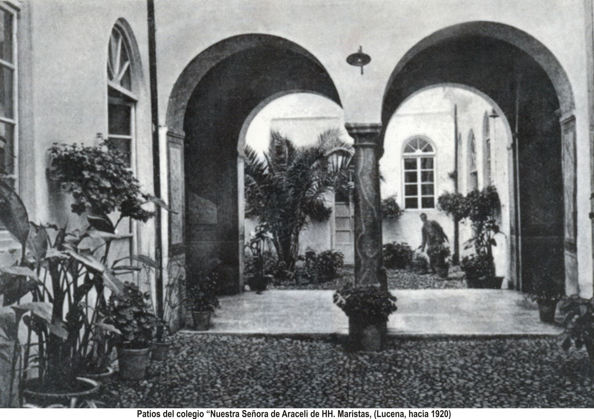 Colegio Maristas 1920