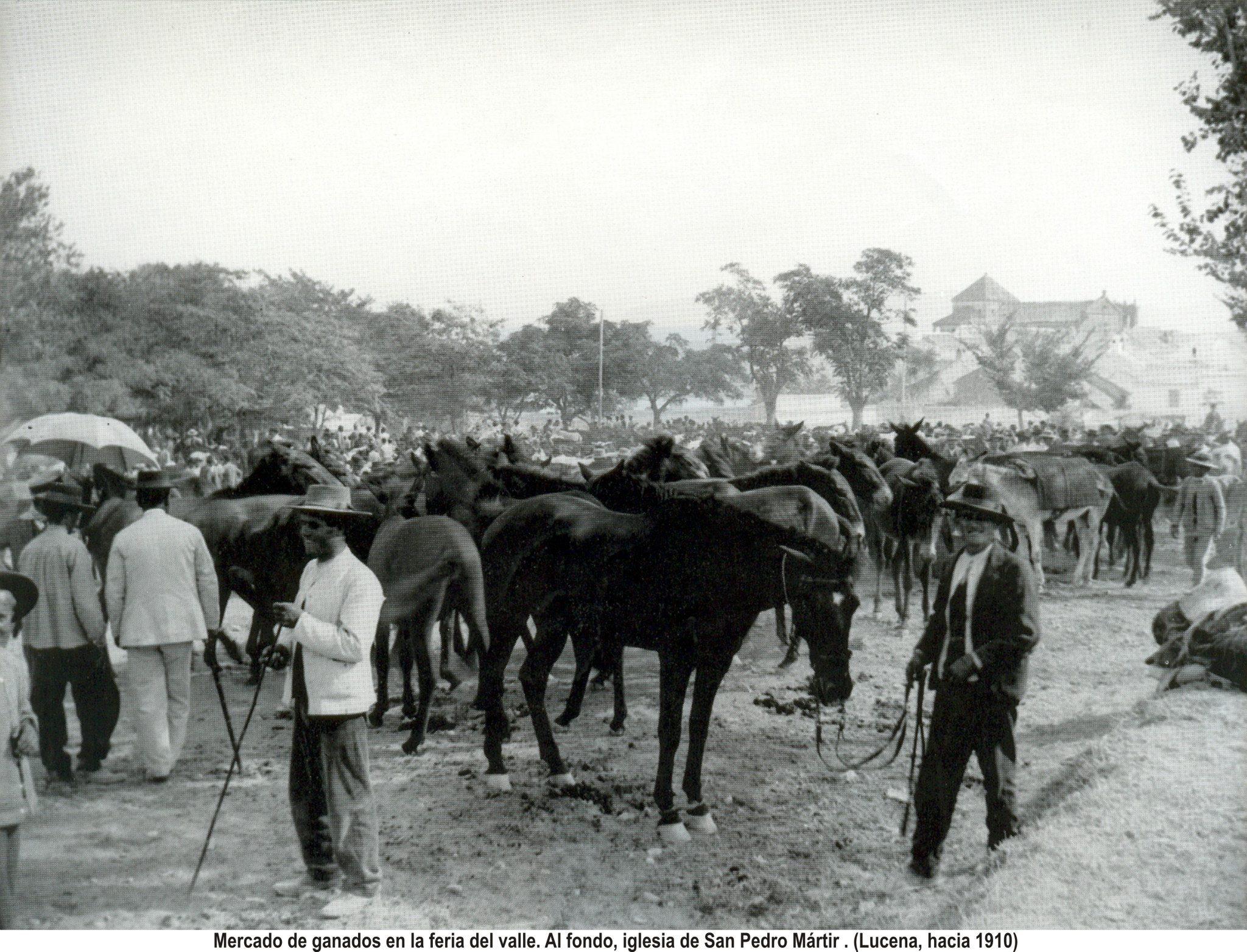 Feria del Valle 1910