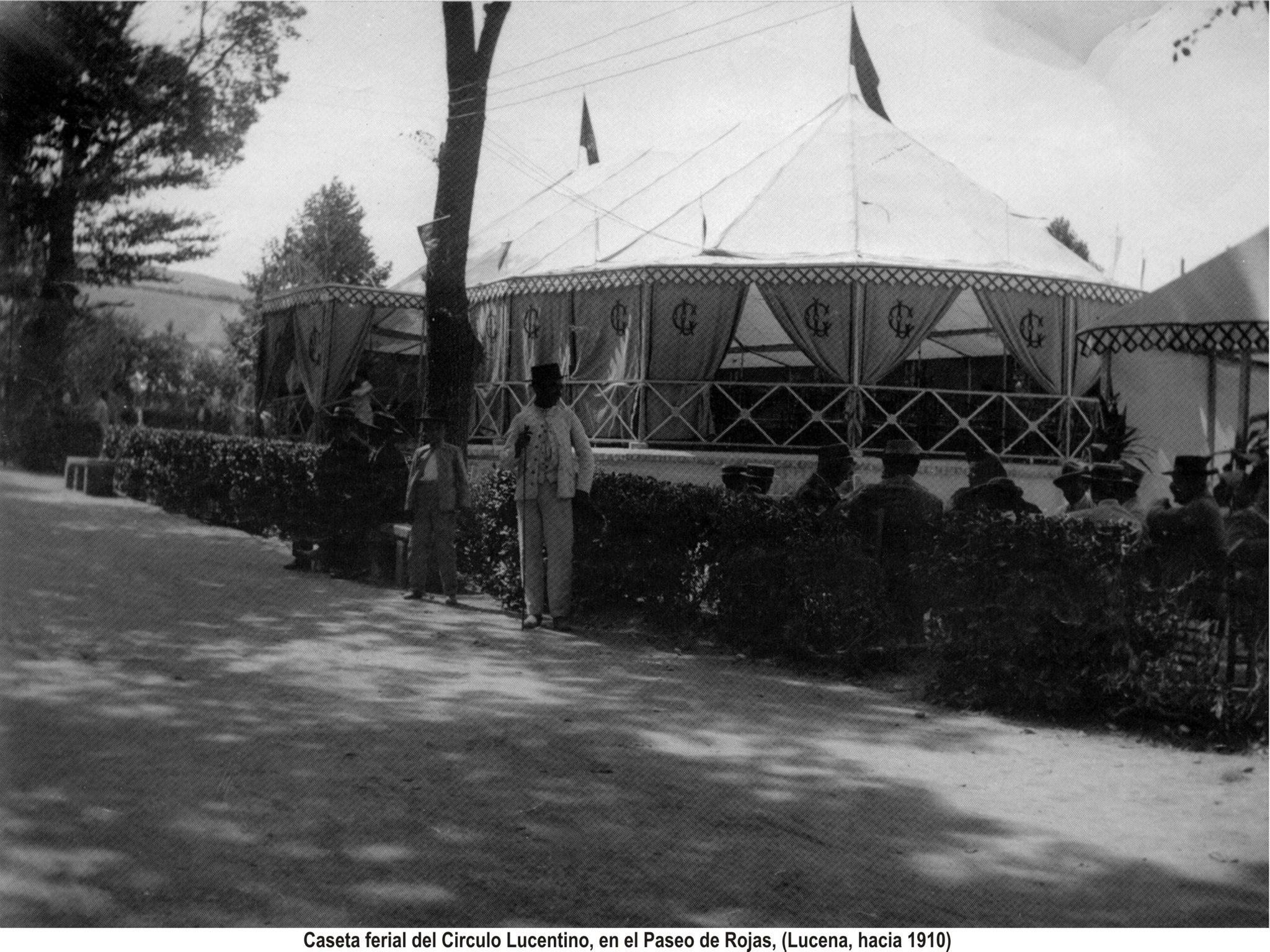 Caseta del Círculo. Paseo de Rojas 1910