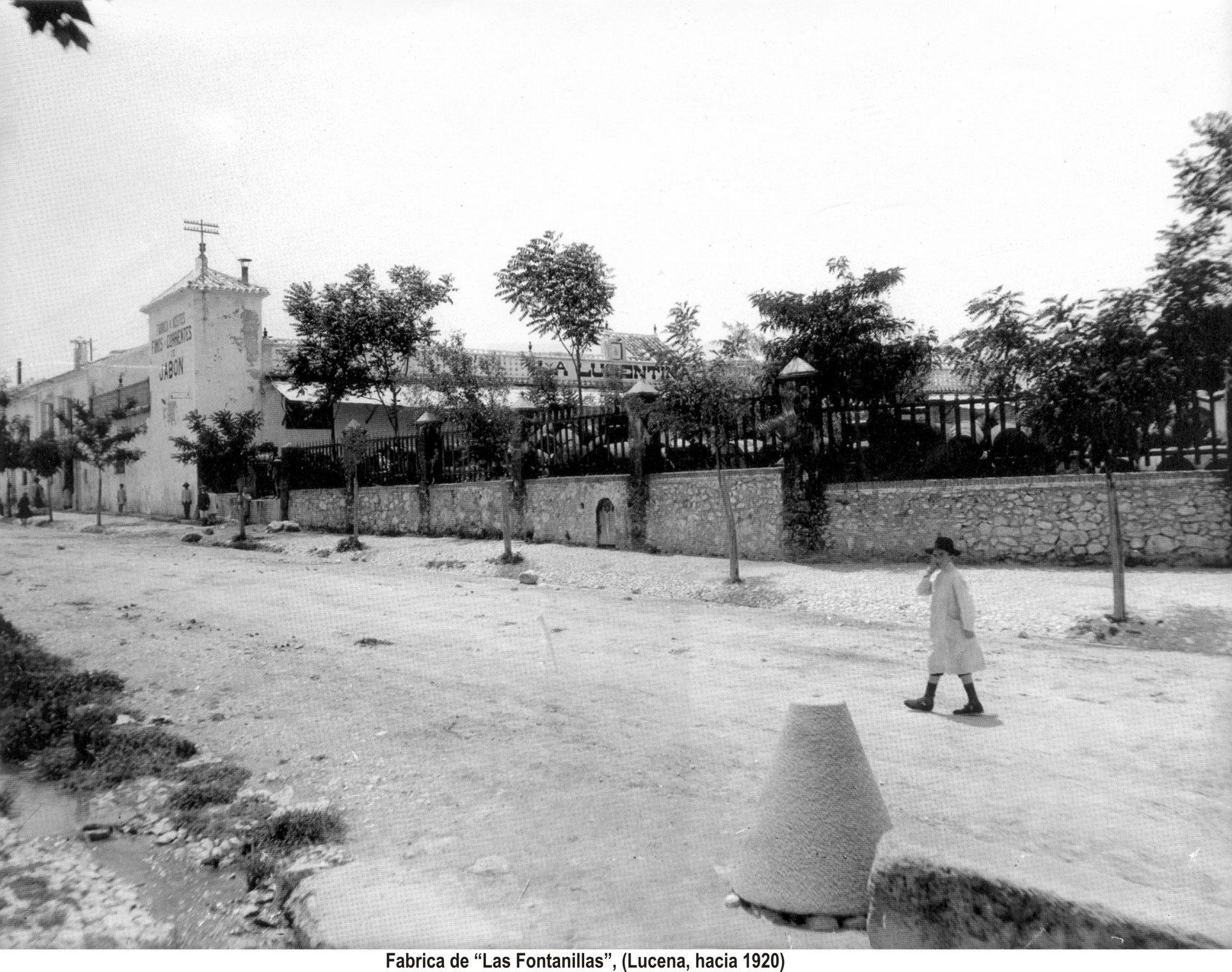 Fábrica de aceite y jabones Las Fontanillas 1920