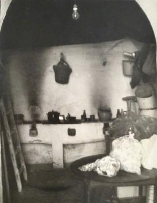 Antonio Calvo Cuenca - Cocina en la posada Vista Hermosa. Fotografía que hice en 1976