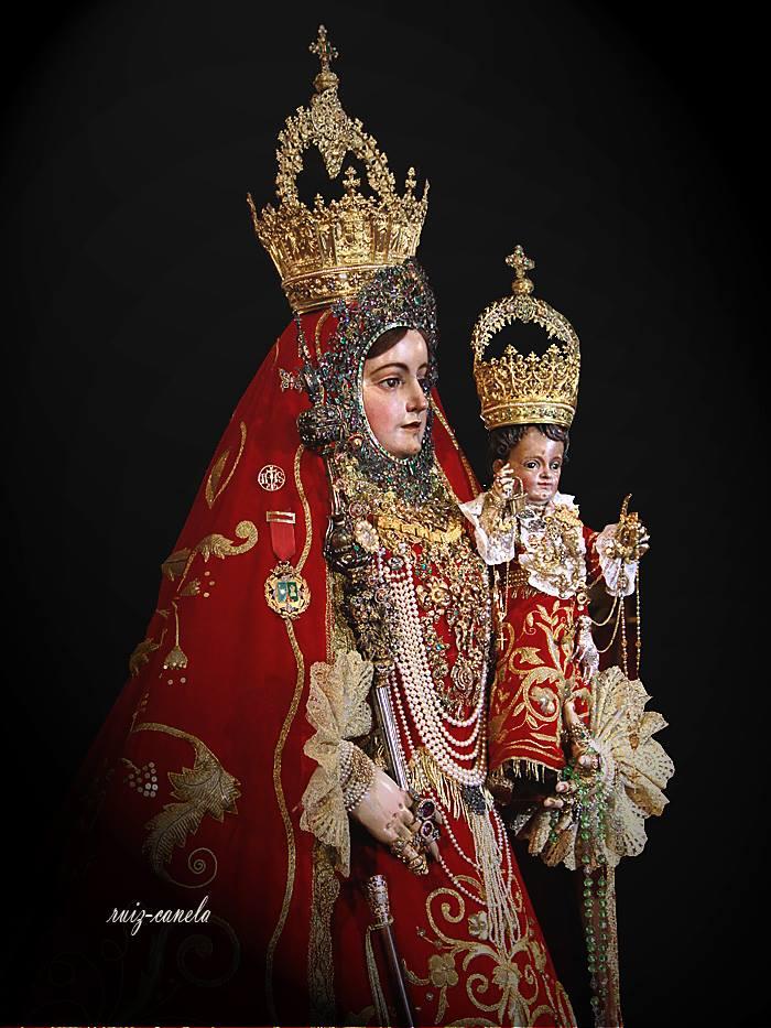Maria Stma. Virgen de Araceli el dia de su besamano
