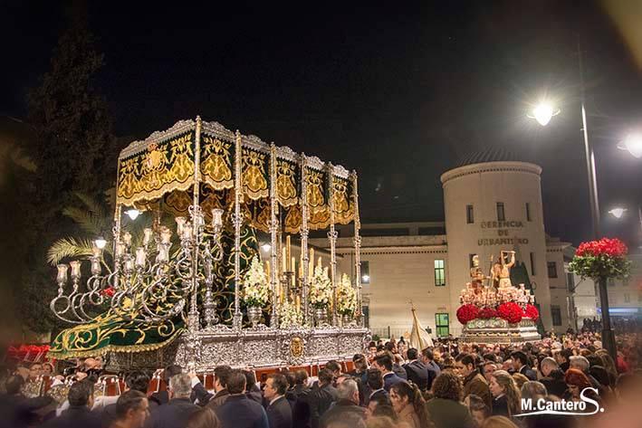Traslado 2014 la Columna y la Esperanza  (Iglesia de Santiago)