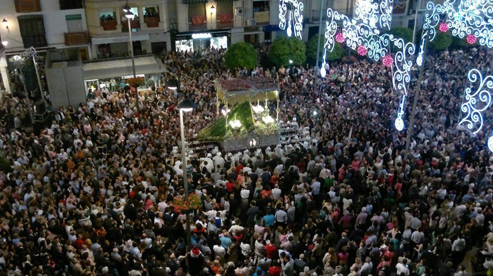 Fiestas Aracelitanas 2014. Plaza Nueva